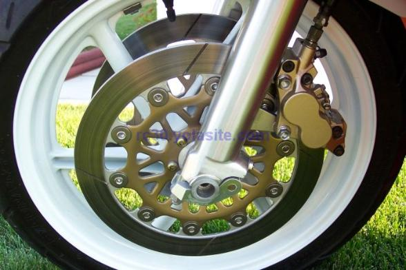 Stock RC30 Front Wheel